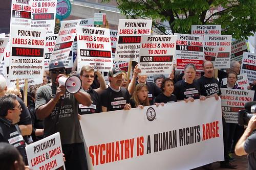 Protest against Psychiatric Drugging of Children in Philadelphia - May 2012