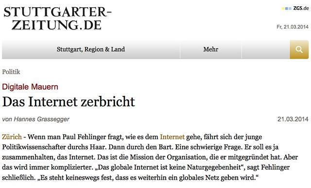 Grassegger Stuttgarter Zeitung