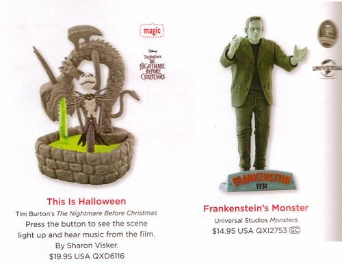 Hallmark Jack Skellington & Frankie 2014