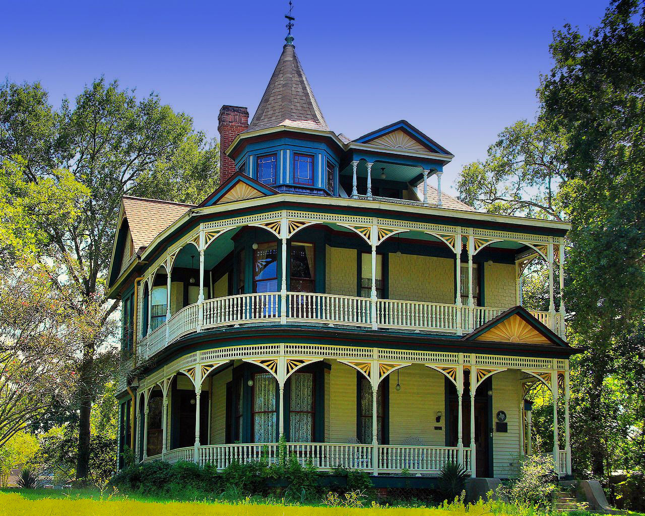 F. W. Schuerenberg House in Brenham, Texas. Credit Larry D. Moore
