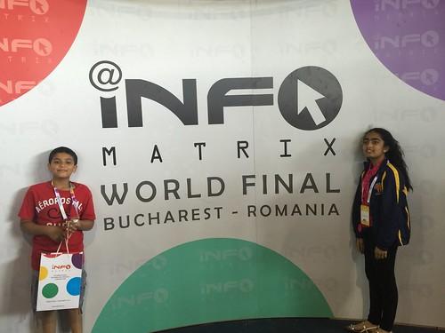 Infomatrix 2016 World Final