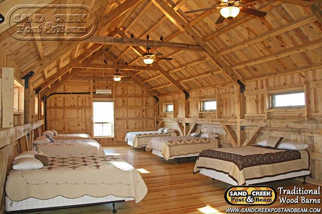 Interior Loft Living Sand Creek Post Beam
