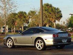 ferrari 456 gt(0.0), automobile(1.0), automotive exterior(1.0), ferrari 550 maranello(1.0), wheel(1.0), vehicle(1.0), performance car(1.0), automotive design(1.0), ferrari 550(1.0), ferrari 575m maranello(1.0), land vehicle(1.0), luxury vehicle(1.0), supercar(1.0), sports car(1.0),