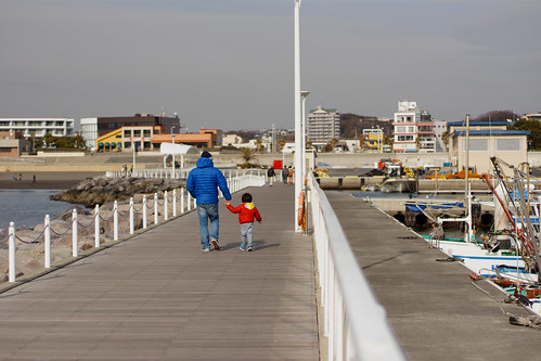 Father & Son on Boardwalks