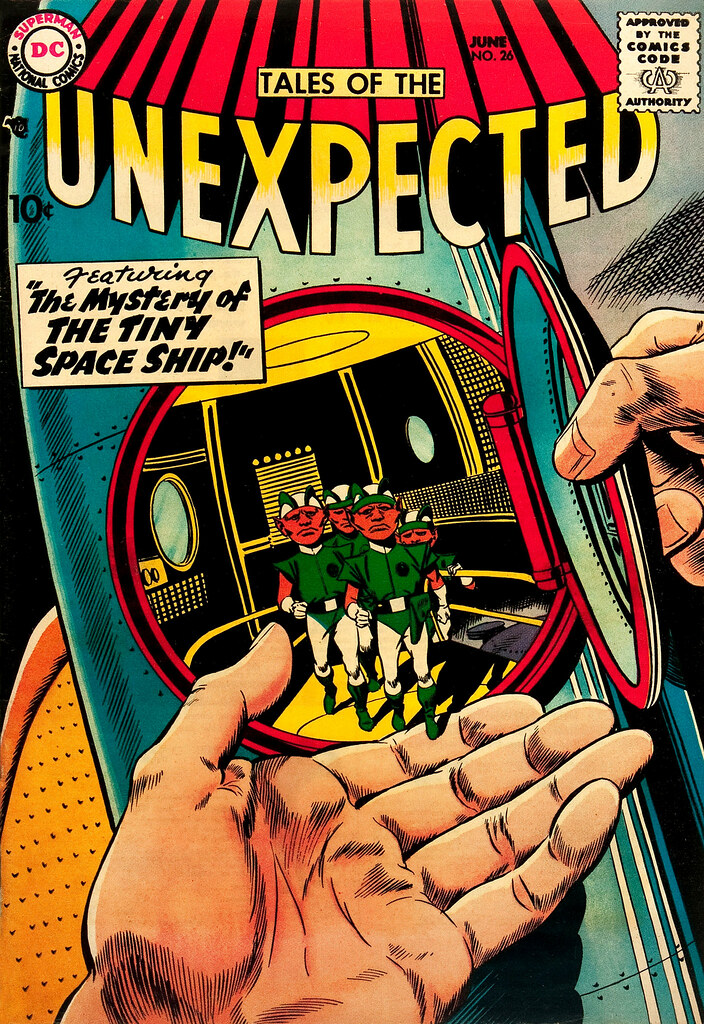 Tales of the Unexpected #26 (DC, 1958) Bob Brown cover