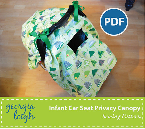Baby Car Seat Cover Free Sewing Pattern For A Pictures