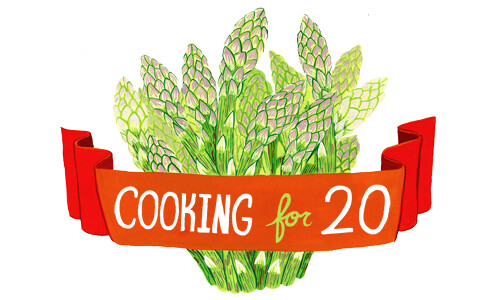 Cooking for 20