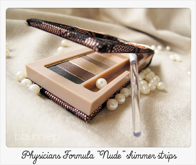 Physicans Formula Nude shimmer Strips palette