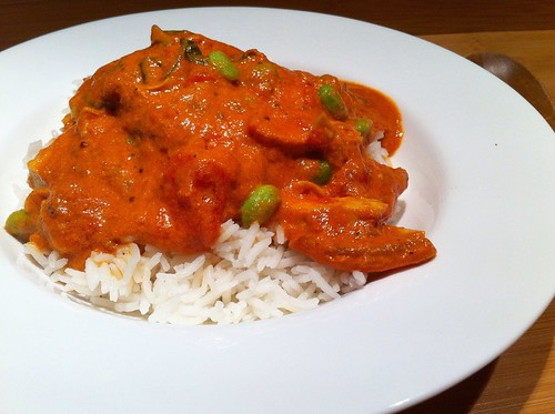Butter Chicken & Edamame by mjd-s