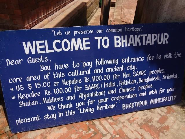 Bhaktapur, local UNESCO Património Mundial da Humanidade no Nepal