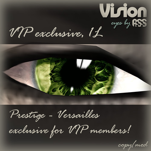 Vision by A:S:S - Prestige - VIP group exclusive