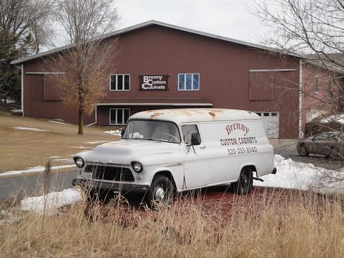cars chevrolet 1955 car truck gm panel five bowtie chevy trucks van 55 nineteen fifty generalmotors chevies 3800 620081 nineteenfiftyfive