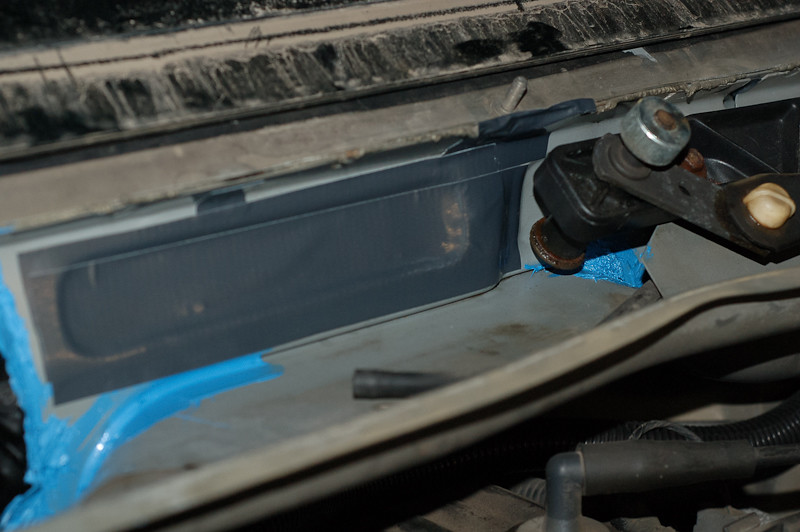 B on Jeep Grand Cherokee Cabin Air Filter Location