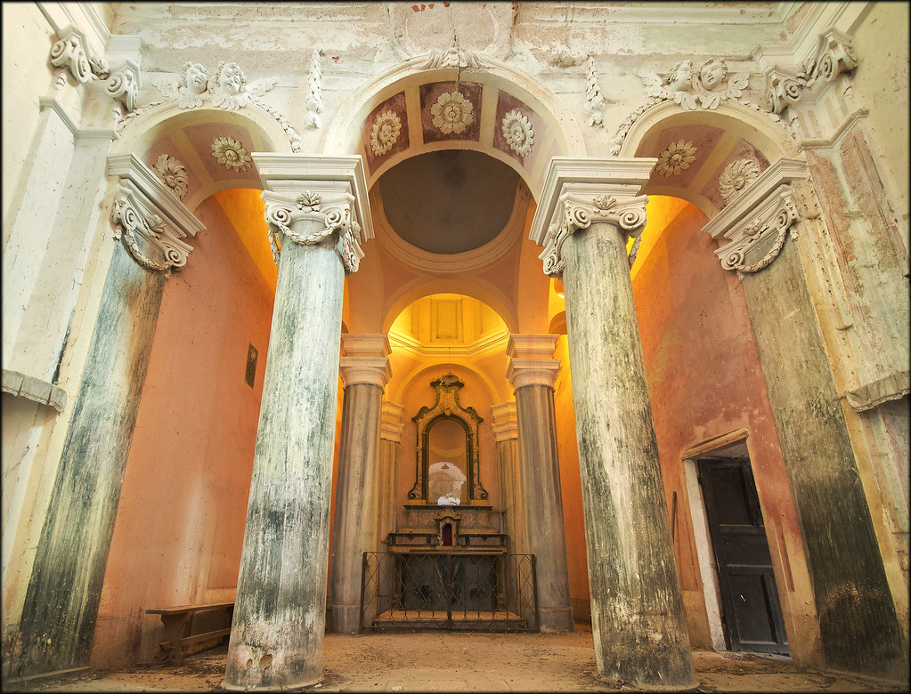 Las columnas de Santa Rita...