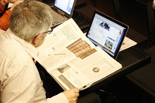 Un periódico en el Congreso Digital - María Pina