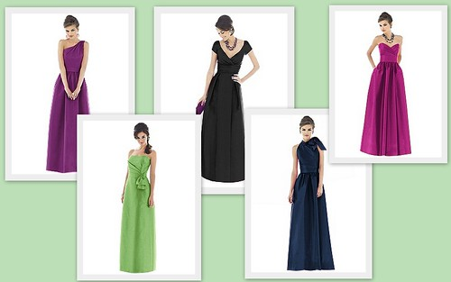 {Modern Elegance} Bridesmaid's Style by Nina Renee Designs