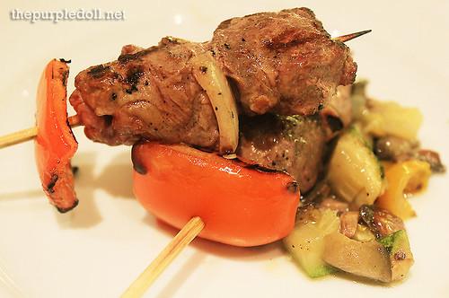 Plate - Lamb Skewer