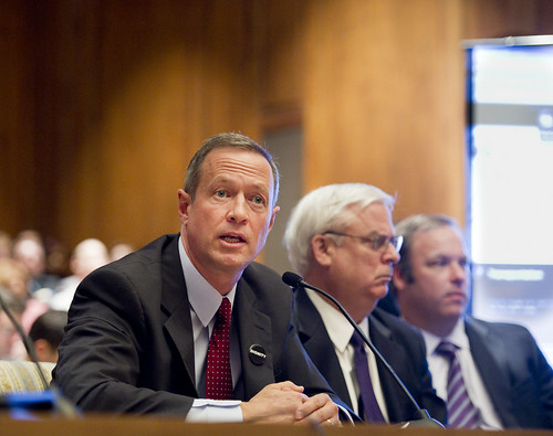 Governor O'Malley testifies