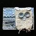 ATC coloured owl - white by Suus in Mokum
