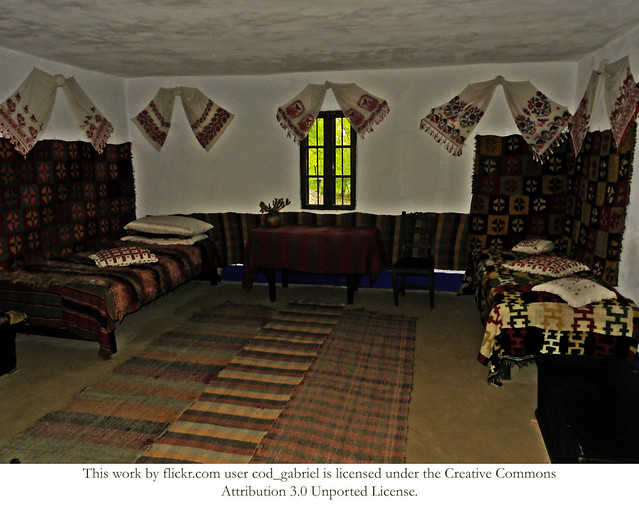 Room in a peasant house in the romanian village museum bucharest flickr photo sharing - Romanian peasant houses ...