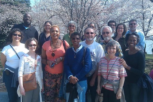 PCUSA Leadership visit the MLK Memorial