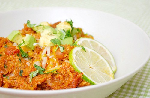 Spicy Mexican Pork & Rice