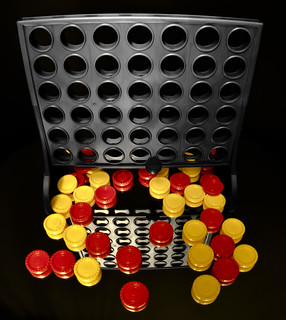 Connect 4. Game over.