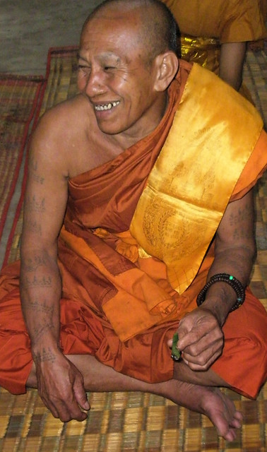 laughing monk (Angkor Wat)