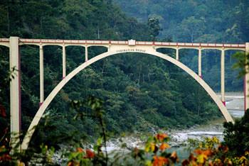 Coronation Bridge - Sevoke