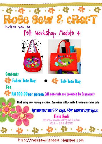 module 4  by Rose Craft Workshop