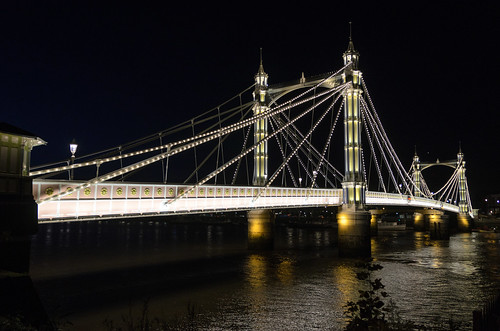 Albert Bridge, a Beauty at Night