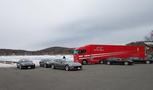 フェラーリと女神湖 2012年2月13日 by Poran111