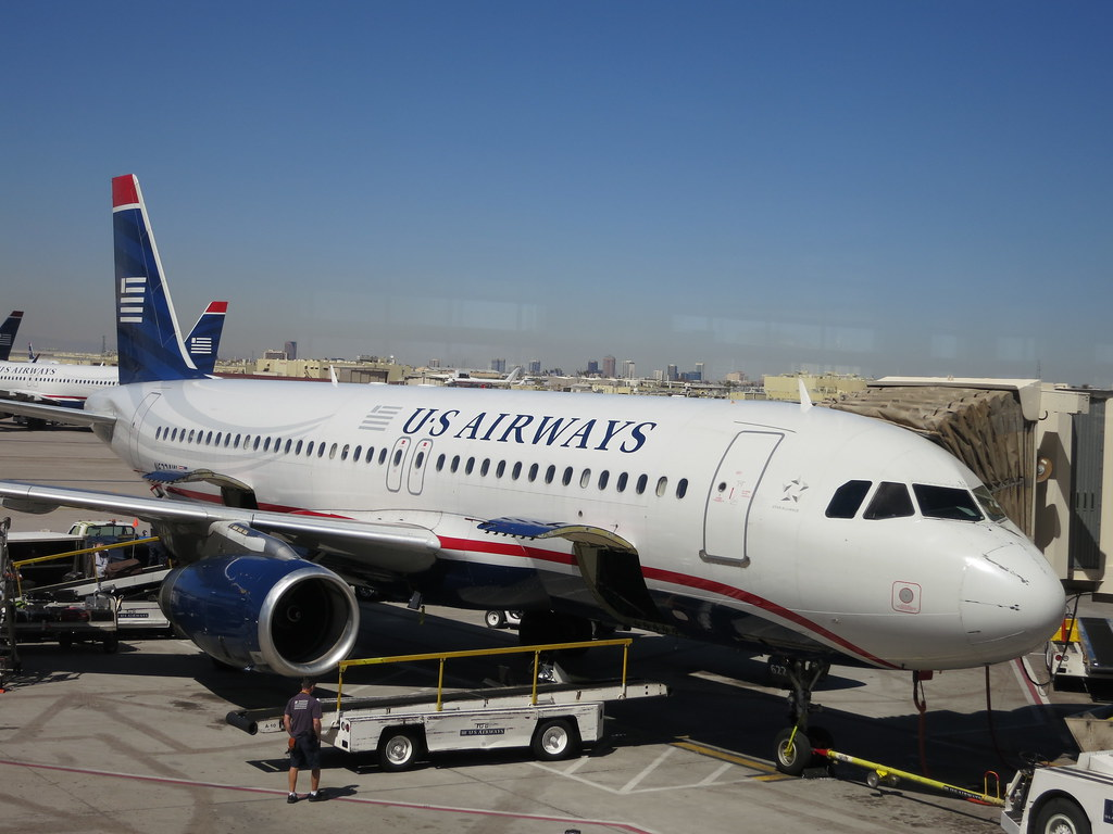 US Airways at Phoenix airport