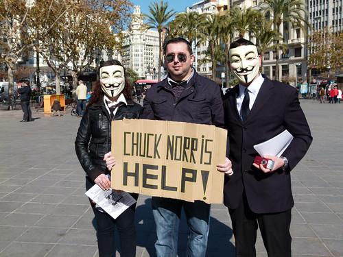 Amnistía Internacional denuncia que el #ACTA promueve la violación de los Derechos Humanos