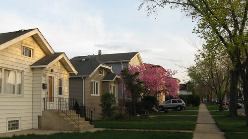 A lovely Springtime evening. Elmwood Park Illinois USA. Late March 2012. by Eddie from Chicago