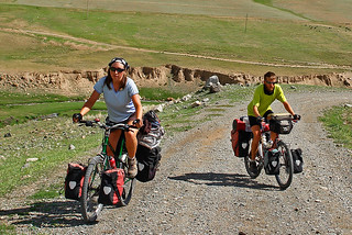 Cycling In Krgyzstan