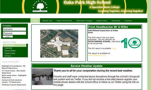 Oaks Park High School London