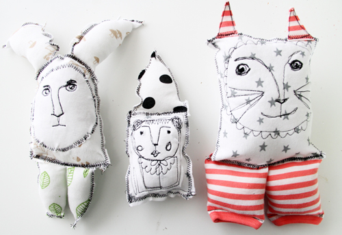 #Upcycle old baby clothes into toys and pillows