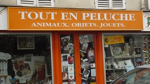 Tout en Peluche, Rue Raymond Losserand, Paris