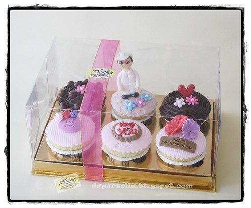 Valentine's Day Cupcake Set