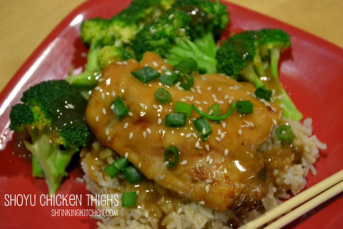Shoyu Chicken Thighs