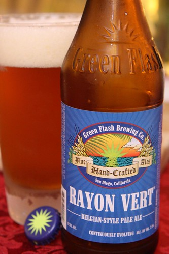 Green Flash Brewing Co. Rayon Vert