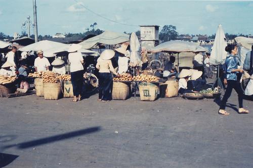 Vietnamese market scene