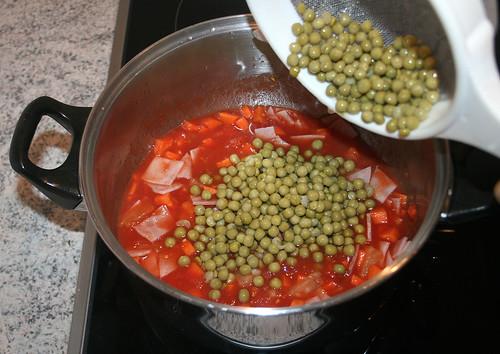 25 - Erbsen hinzufügen / Add peas