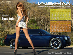 W&BM - Wheels and Heels Magazine - Leng Yein Calendar (standard)