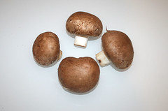 04 - Zutat Champignons / Ingredient white mushrooms
