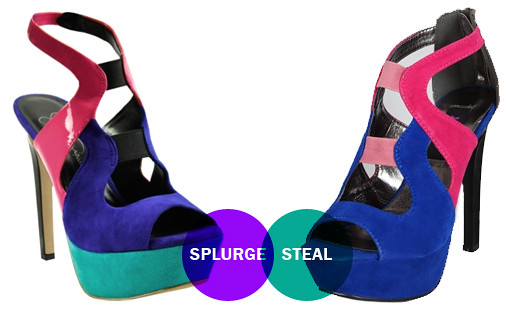 colorblock platforms