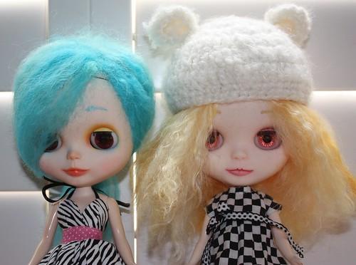 Meet Maya & Serene by Among the Dolls