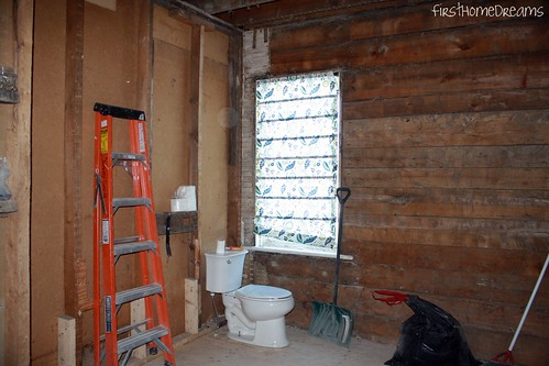 victorian farm house bathroom renovation barn board