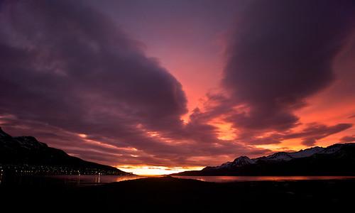 morning sky reflection clouds sunrise iceland village 500views ísland 1000views ský himinn speglun morgunn sólarupprás fáskrúðsfjörður abigfave faskrudsfjordur þorp jónínaguðrúnóskarsdóttir